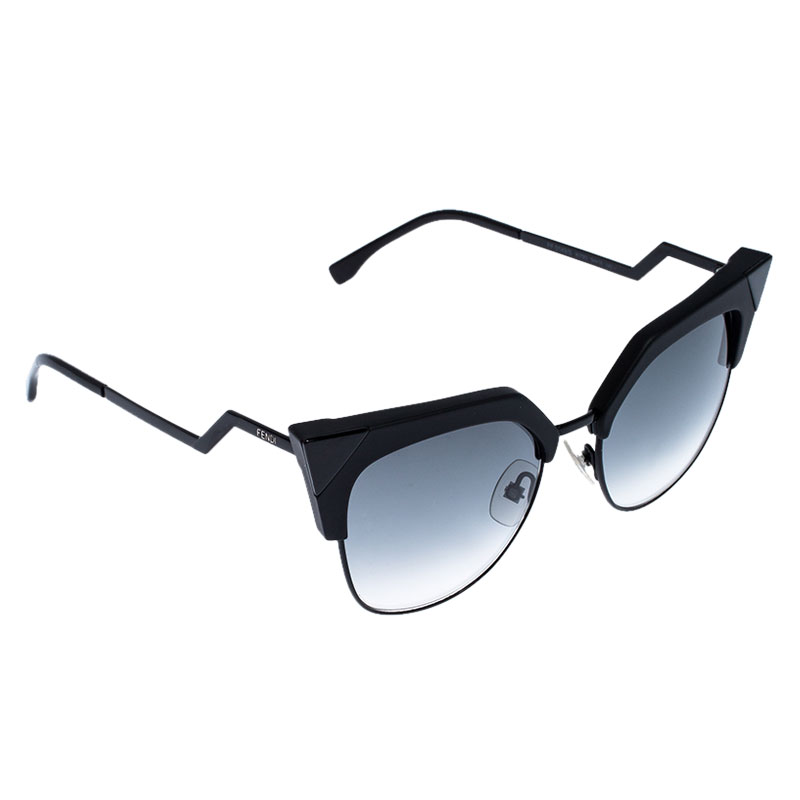 Fendi Black/Grey Gradient FF0149/S Cat Eye Sunglasses