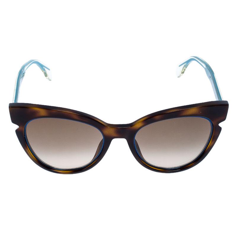 Sunglasses Balenciaga BA 0132 52F dark havana gradient brown