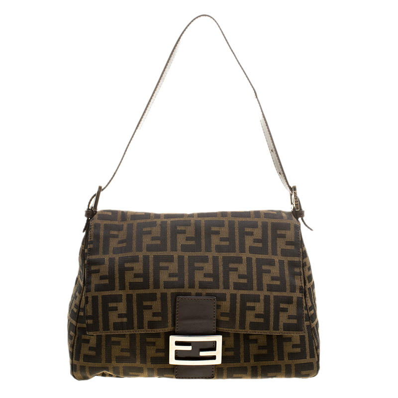 907b5b8c46 ... Fendi Tobacco Zucca Canvas Mama Forever Shoulder Bag. nextprev. prevnext