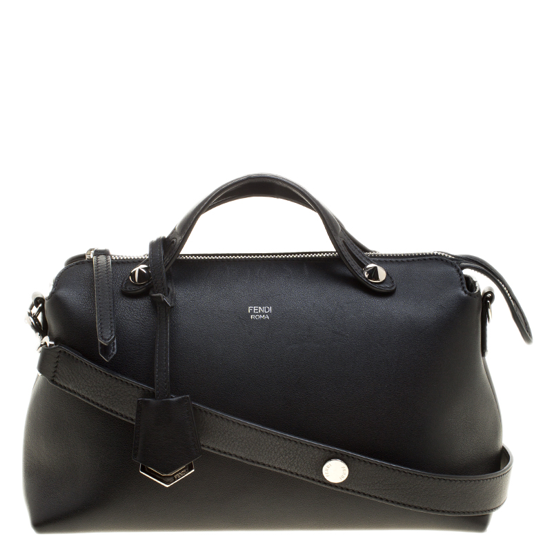 6aef5d88666b ... Fendi Black Leather Small By The Way Shoulder Bag. nextprev. prevnext