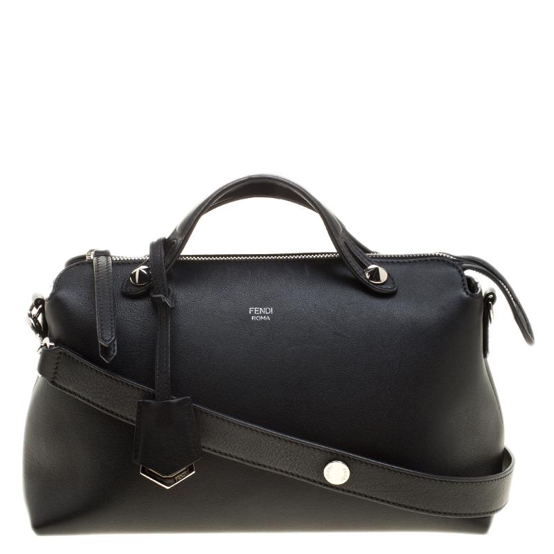 bdf753a2df ... Fendi Black Leather Small By The Way Shoulder Bag. nextprev. prevnext
