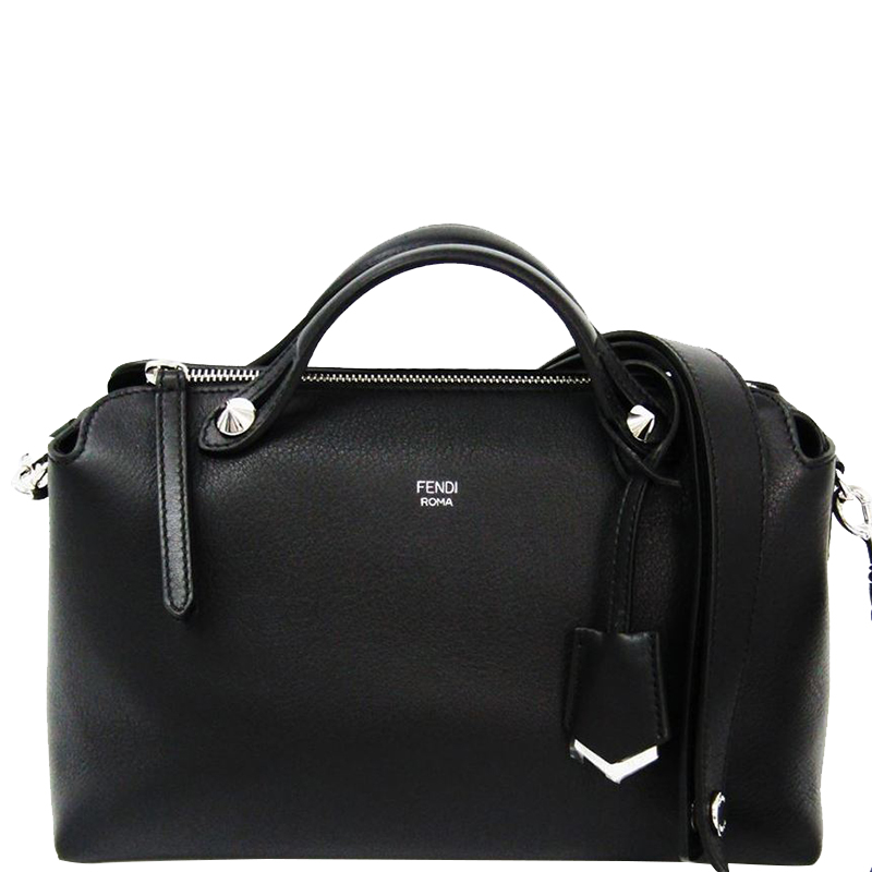 4915406dc ... Fendi Black Leather Small By The Way Satchel Bag. nextprev. prevnext
