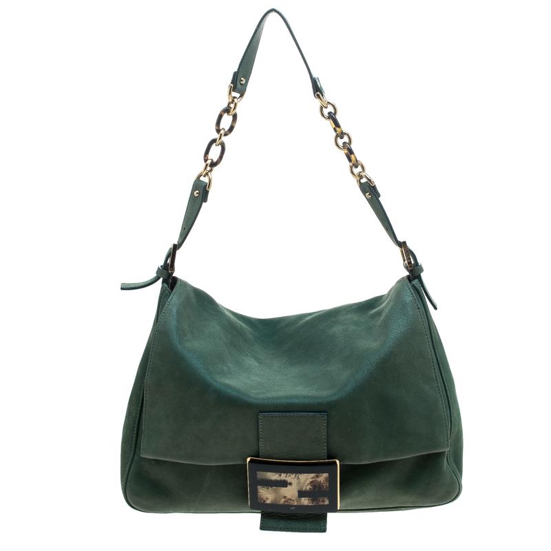 ... Fendi Green Shimmering Leather Mama Forever Shoulder Bag. nextprev.  prevnext 41ecfaebe3d46
