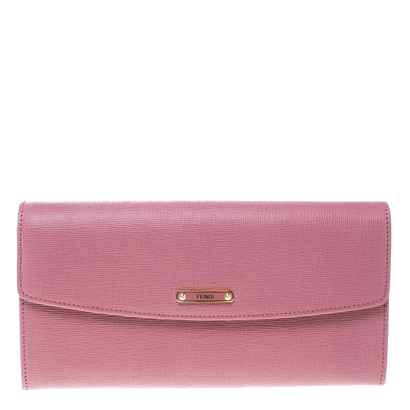 b6ab6b38350 ... Fendi Pink Leather Crayons Continental Wallet. nextprev. prevnext