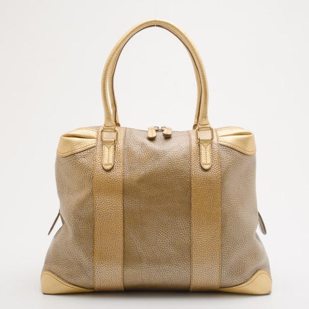 99c5f40393 ... Fendi Bronze Metallic Leather  B.Mix  Large Bowler Bag. nextprev.  prevnext