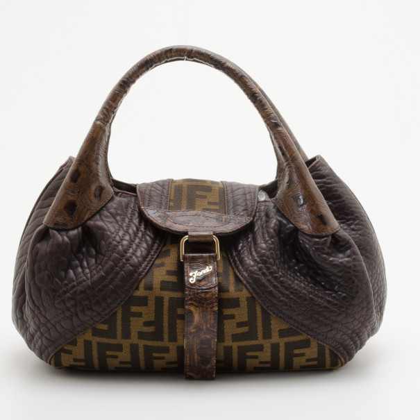 Buy Fendi Zucca Turtle Small Spy Bag 35626 at best price  d8aee29aea71e