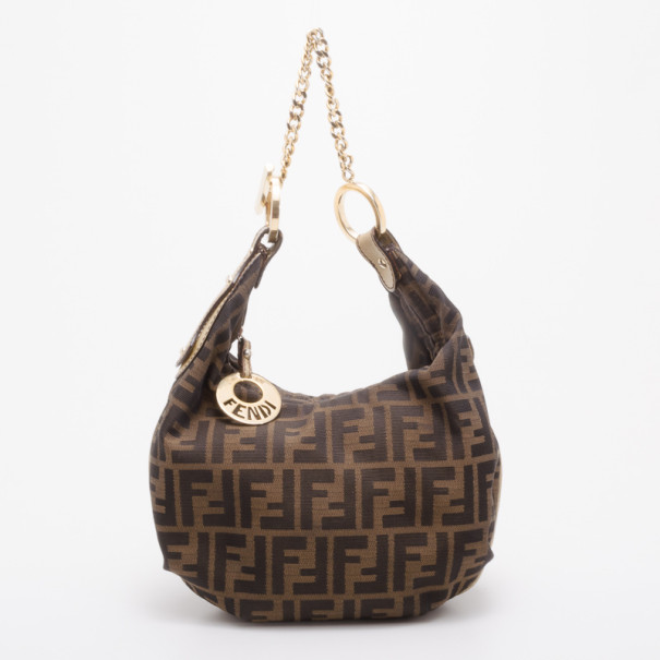 17aa6e0c85d Buy Fendi Zucca Chef Chain Link Hobo 37739 at best price | TLC