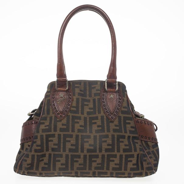 46da5f7e1185 Buy Fendi Zucca du Jour Handbag 23531 at best price