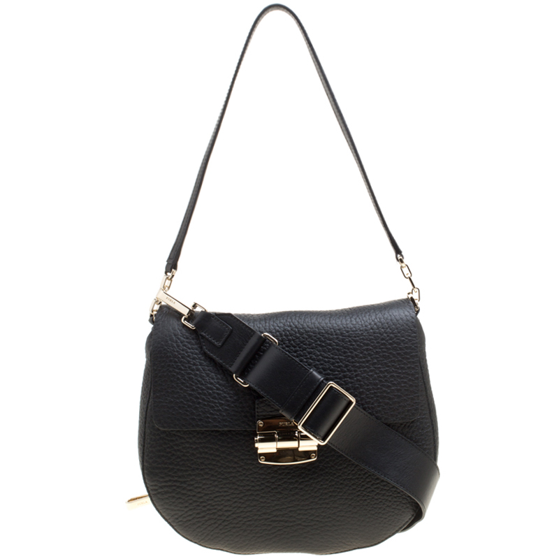 3cd1b9a14e40 ... Furla Black Leather Small Club Crossbody Bag. nextprev. prevnext