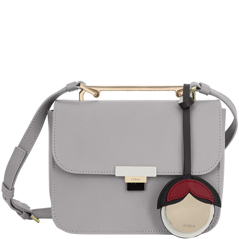 b85642fad Buy Furla Onice Leather Mini Elisir Crossbody Bag 172072 at best ...