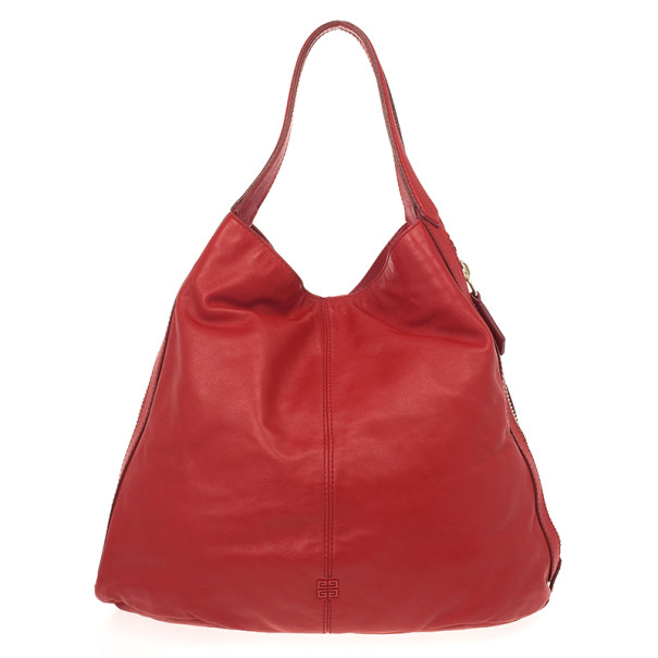 4f80161d1ffd Buy Givenchy Red Lambskin Tinhan Shopper 21246 at best price