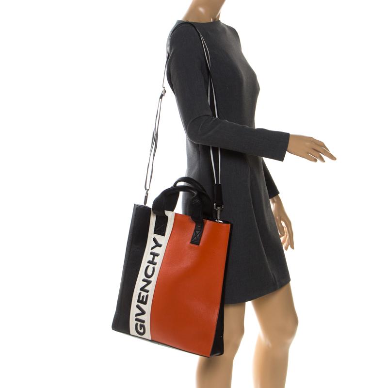 Givenchy Tricolore Mc3 Cuir Fourre-Tout