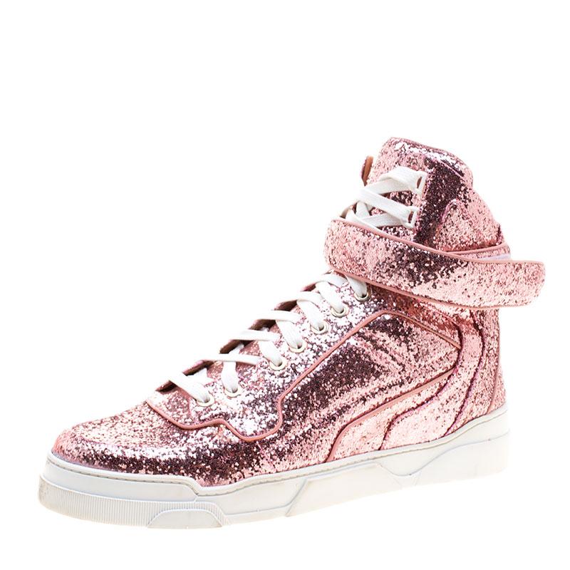 a04fe8ec15d ... Givenchy Pink Glitter High Top Sneakers Size 41. nextprev. prevnext