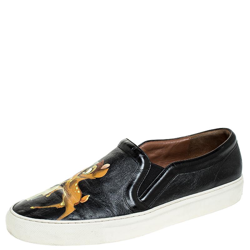 Givenchy Black Leather Bambi Skate