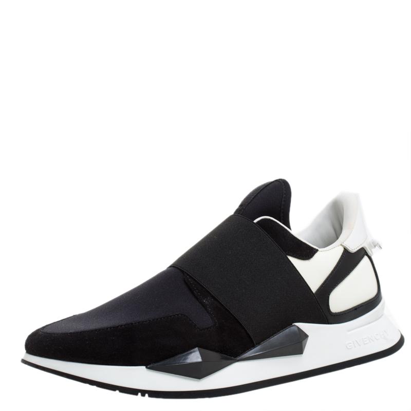 Givenchy Black/White Neoprene Runner