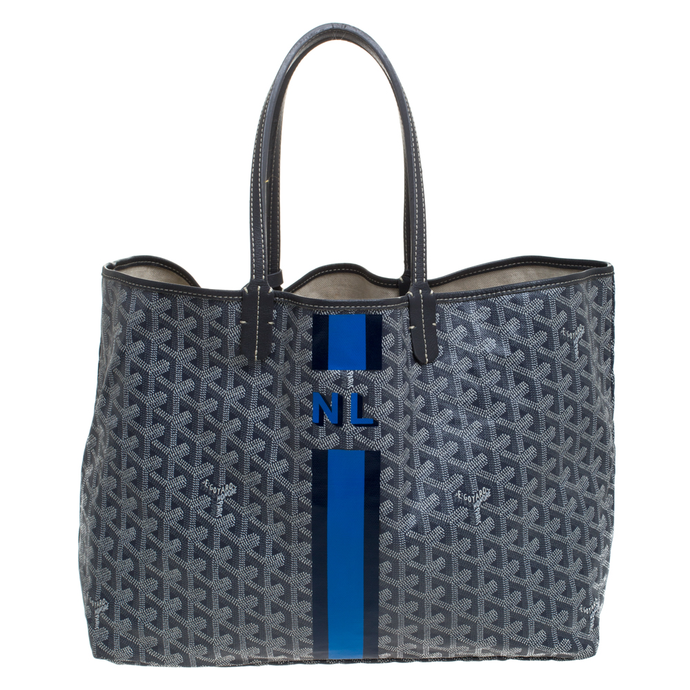 Goyard Grey Coated Canvas Saint Louis Tote