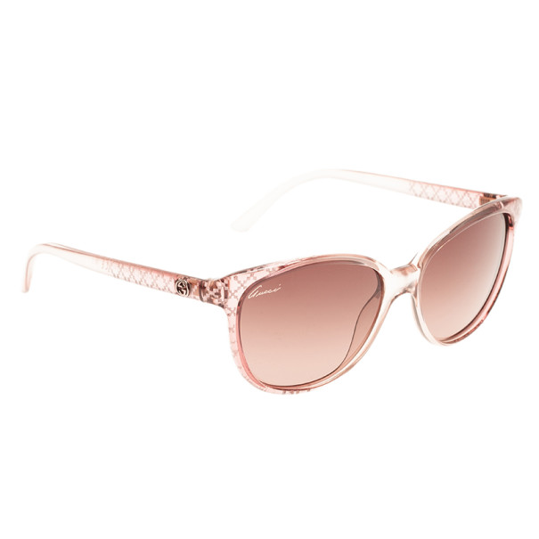 4a2a7092d Buy Gucci Pink GG 3363 Cat Eye Sunglasses 4143 at best price | TLC