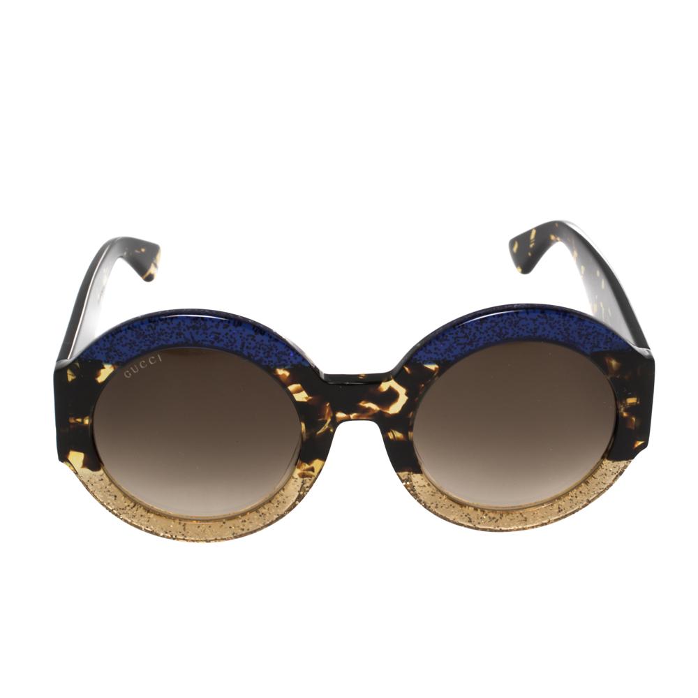 Gucci Multicolor GG0084S Round Sunglasses