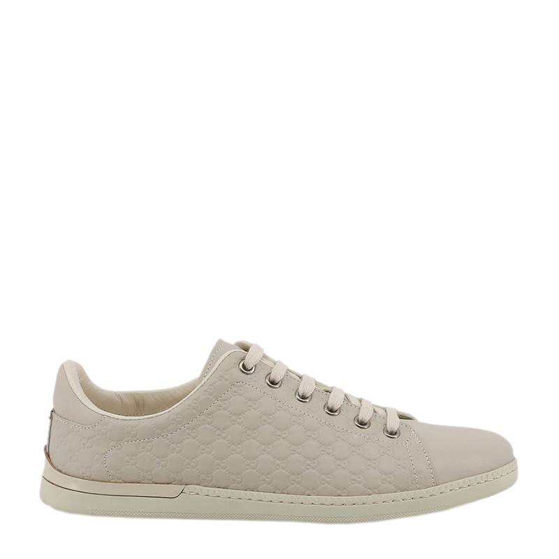 849304481 ... Gucci Beige Microguccissima Leather Lace Up Sneakers Size 38. nextprev.  prevnext