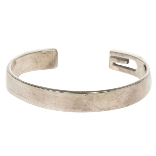 0d50e0ac6 Buy Gucci Silver Bangle Bracelet 18CM 13859 at best price | TLC