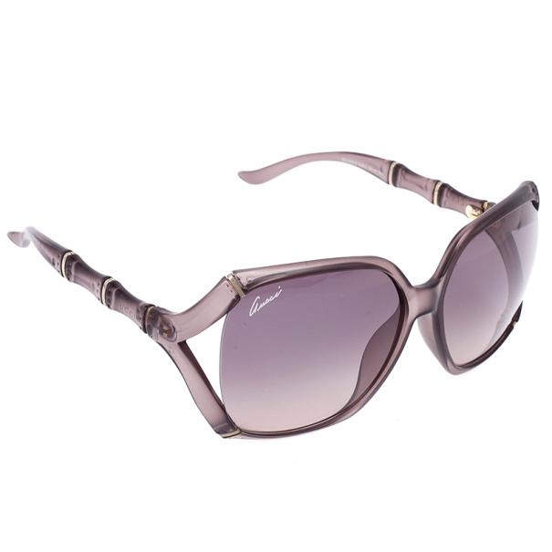 1343958820 ... Gucci Brown Bamboo Effect Oversize Square Womens Sunglasses. nextprev.  prevnext