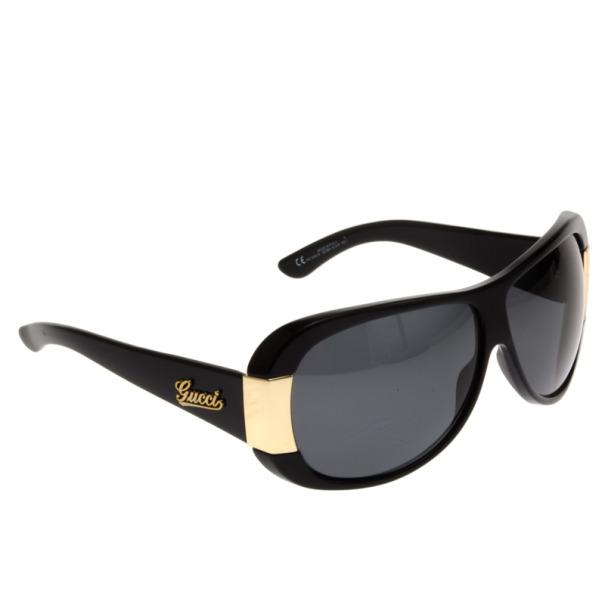 Gucci Black 3063 Square Sunglasses