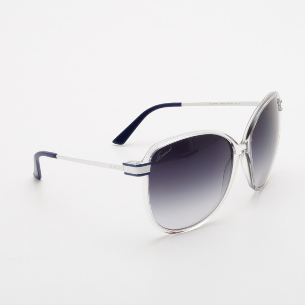 b674db9fa7e Buy Gucci Crystal White GG 3141 S Sunglasses 36307 at best price