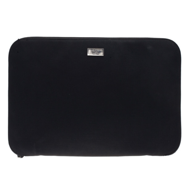 56fb2cfc36bb Buy Gucci Black Nylon Laptop Case 4065 at best price | TLC