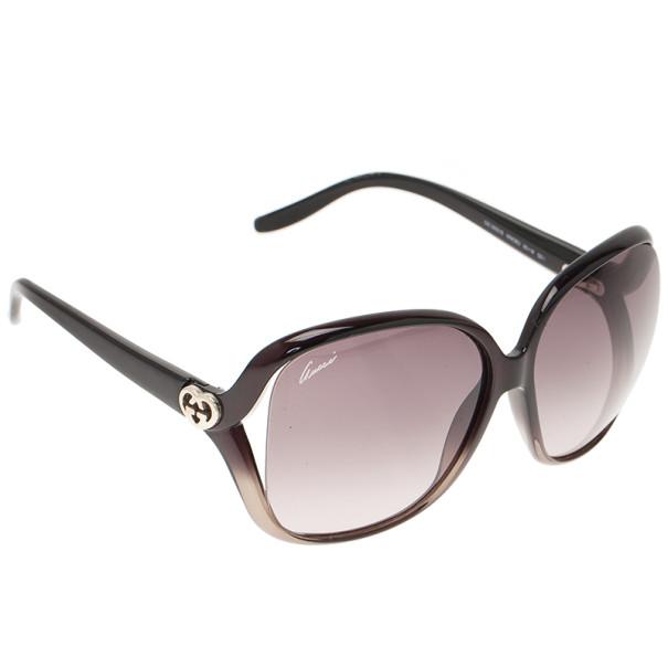 71b9fa4e1fe ... Gucci Black Heart Interlocking G Square Sunglasses. nextprev. prevnext