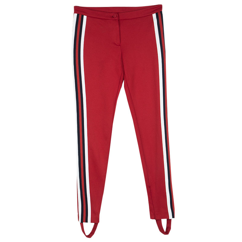164df5252a8 ... Gucci Red Jersey Striped Stirrup Sylvie Web Pants XS. nextprev. prevnext