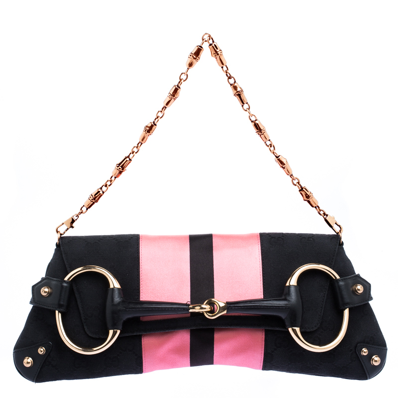 905f4965c43 Buy Gucci Black Pink GG Canvas and Satin Limited Edition Tom Ford ...