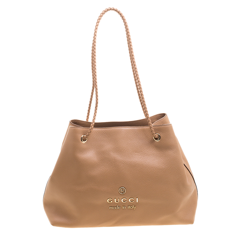 6235e0424aa Buy Gucci Beige Leather Gifford Tote 119256 at best price