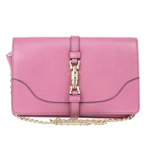 9237a2f0b3e3 Buy Gucci Jackie Soft Leather Flap Shoulder Bag 13286 at best price ...