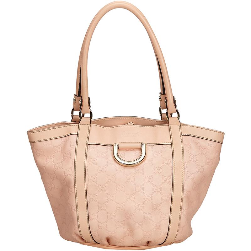 0fccab41440f Gucci Pink Guccissima Canvas Tote Bag купить в Ростове-на-Дону