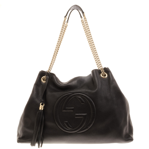 3ebc14b9fd5 Buy Gucci Soho Large Leather Shoulder Bag 17325 at best price