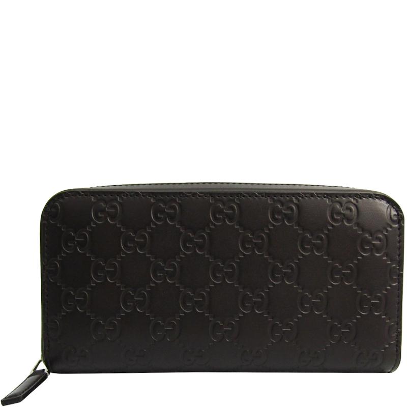 fb169e696afff2 ... Gucci Dark Brown Guccissima Leather Zip Around Wallet. nextprev.  prevnext