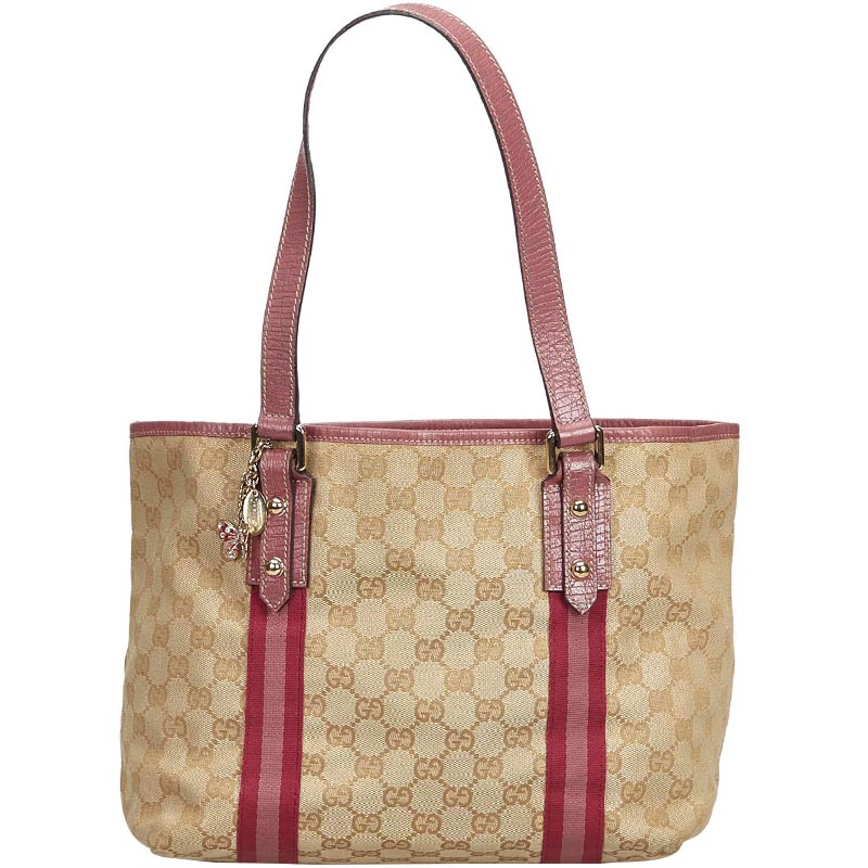 f704900098e01c Buy Gucci Brown Jacquard GG Jolicoeur Tote Bag 181999 at best price ...