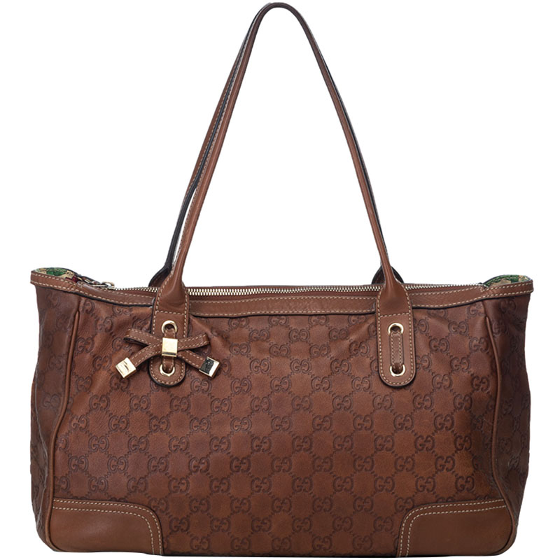 e631dd388 ... Gucci Brown Guccissima Leather Princy Everyday Bag. nextprev. prevnext