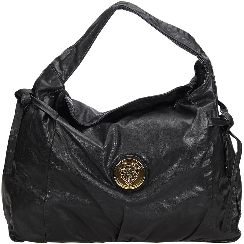 9fcdd3bf96a Buy Gucci Black Leather Hysteria Tote Bag 184219 at best price