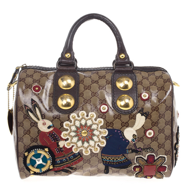 1224a4ac52a Buy Gucci Babouska Monogram Large Boston Bag 19167 at best price