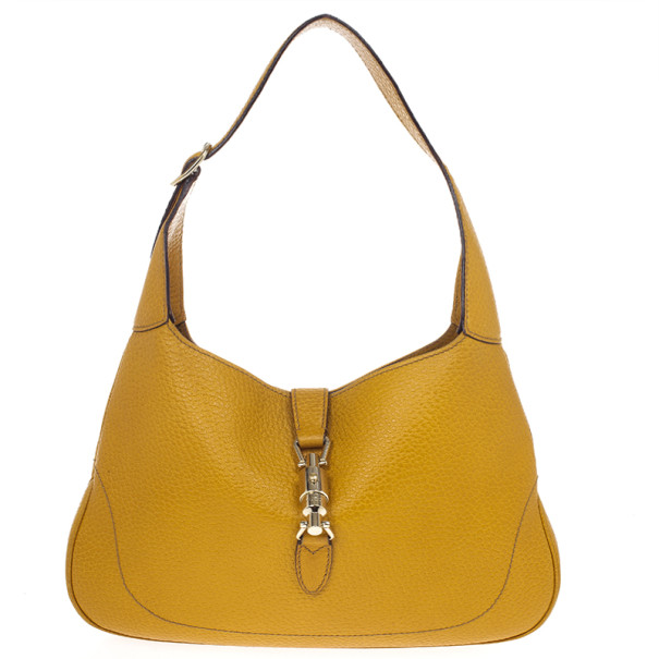 Gucci Mustard Medium Jackie O Shoulder Bag Nextprev Prevnext