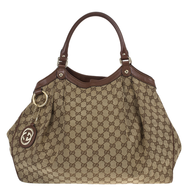 29d81ccc969 Buy Gucci GG Canvas Sukey Large Tote 22307 at best price