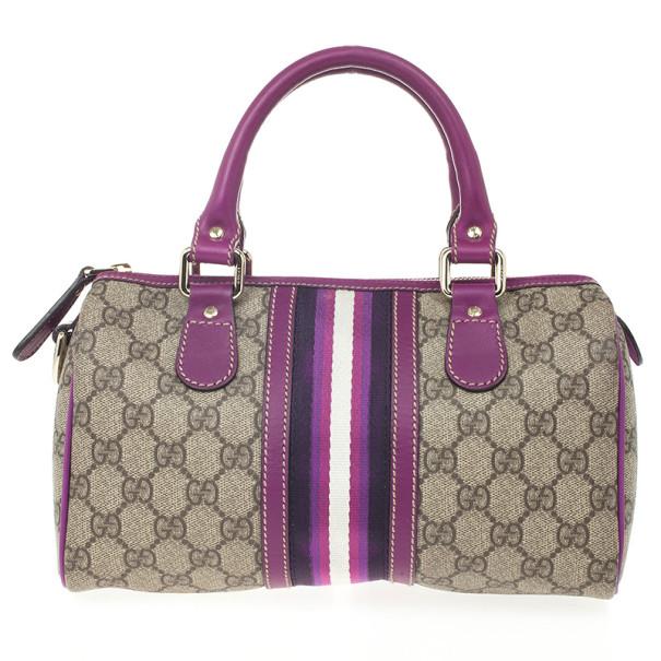 d0badedaad1 ... Gucci Purple Limited Edition Small Joy Boston Bag. nextprev. prevnext