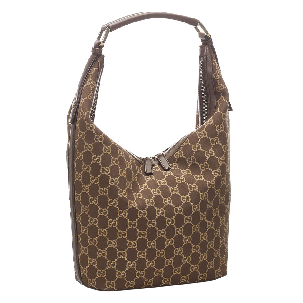 Gucci Brown GG Canvas Tote Bag  - buy with discount