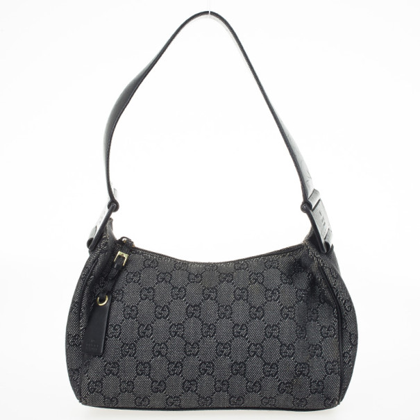330d8f99072 Buy Gucci Denim GG Fabric Small Shoulder Bag 29981 at best price