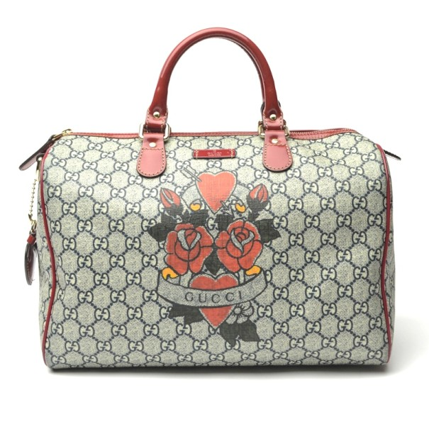 8d0d6066a9e9 Buy Gucci Limited Edition Tattoo Heart Joy Boston Bag 31669 at best price