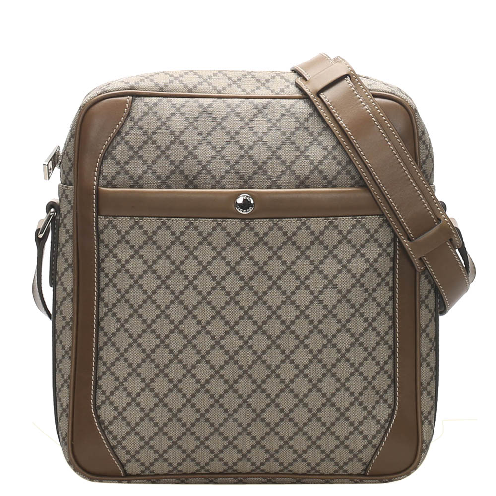 Gucci Brown Diamante Crossbody Bag