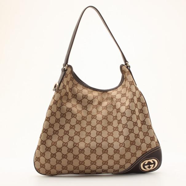 87bd134b04f Buy Gucci New Britt Medium Hobo 36122 at best price