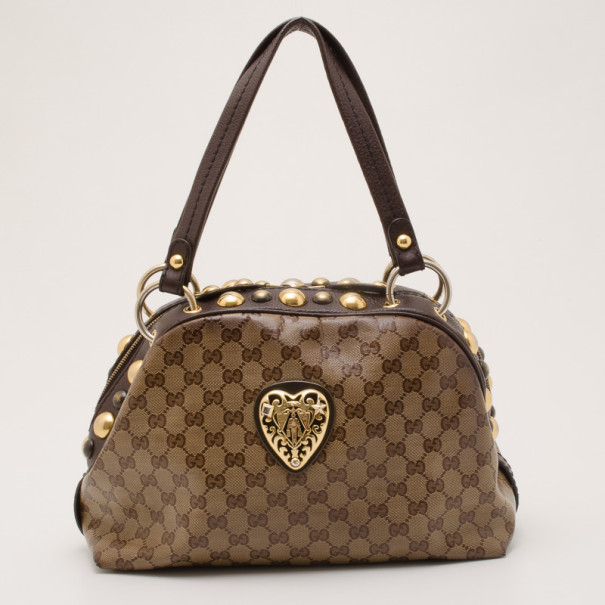 c19abf69a Buy Gucci Babouska Crystal GG Crest Dome Bag 36842 at best price | TLC