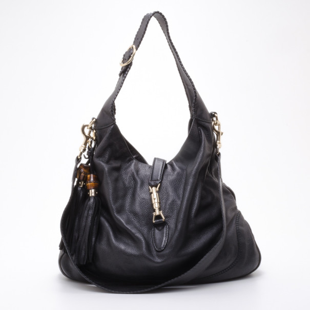 ca8454f75e2 Buy Gucci New Jackie Leather Shoulder Bag 37949 at best price